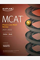 MCAT Physics and Math Review 2021-2022: Online + Book (Kaplan Test Prep) Kindle Edition