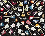 #6: FENDER Electric Guitar THROW BLANKET 50 X 60 inches