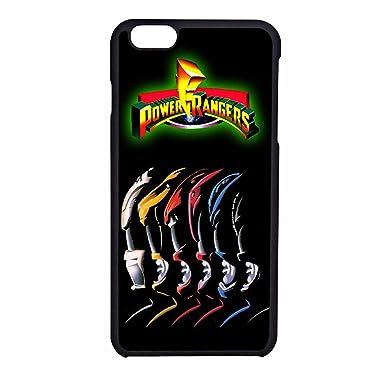 hot sale online c1947 6f6d2 Power Rangers iPhone 6 Case / iPhone 6s Case (Black Plastic): Amazon ...