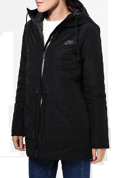 a2c296a19df2 Amazon.com  Nike Women s NSW Down Fill Parka Jacket w Hoodie 805080 ...