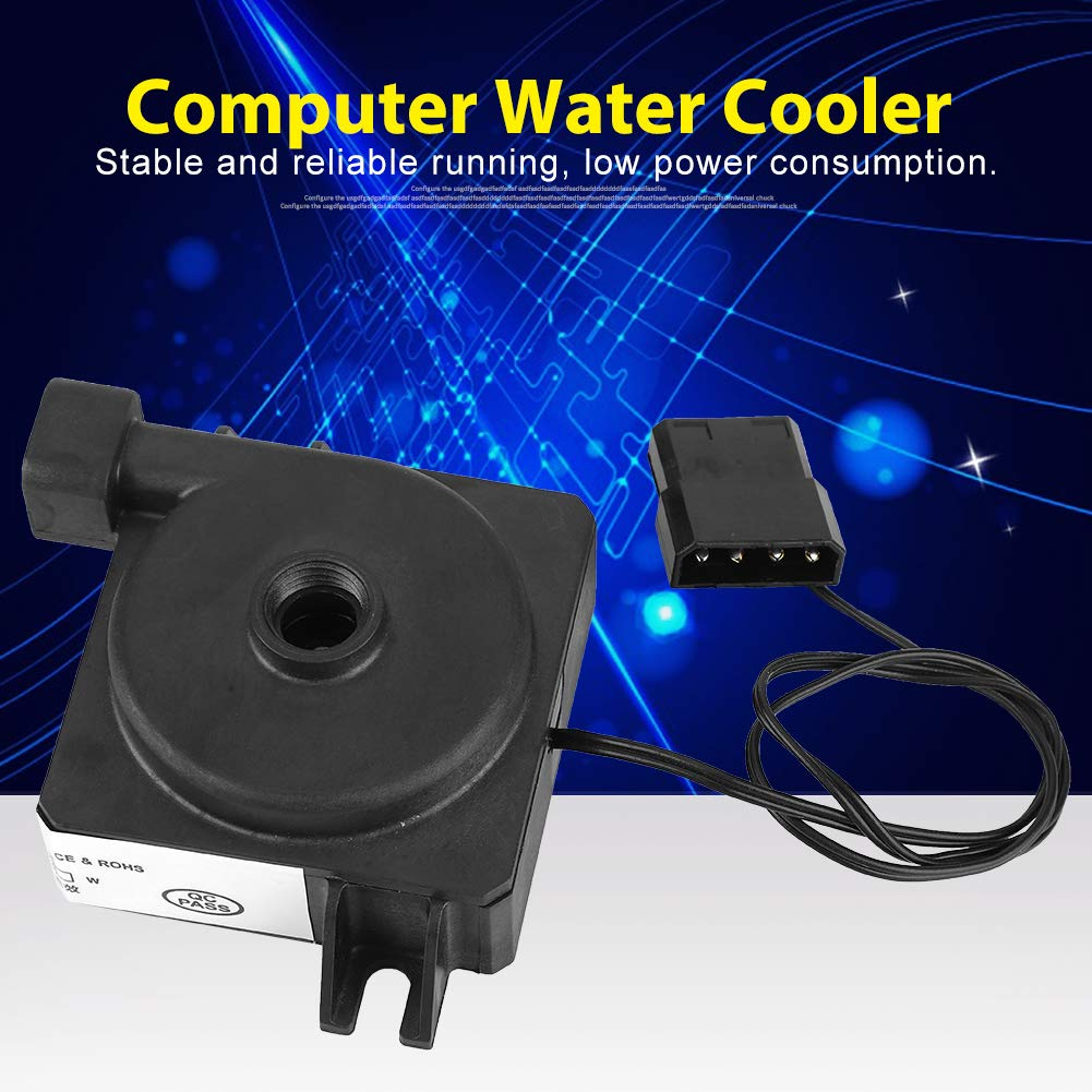 ABS 12V 3W Electric Silent Temperature-Resistant Water Cooling Pump DIY Computer Water Cooler 26-03 Water Cooling Pump