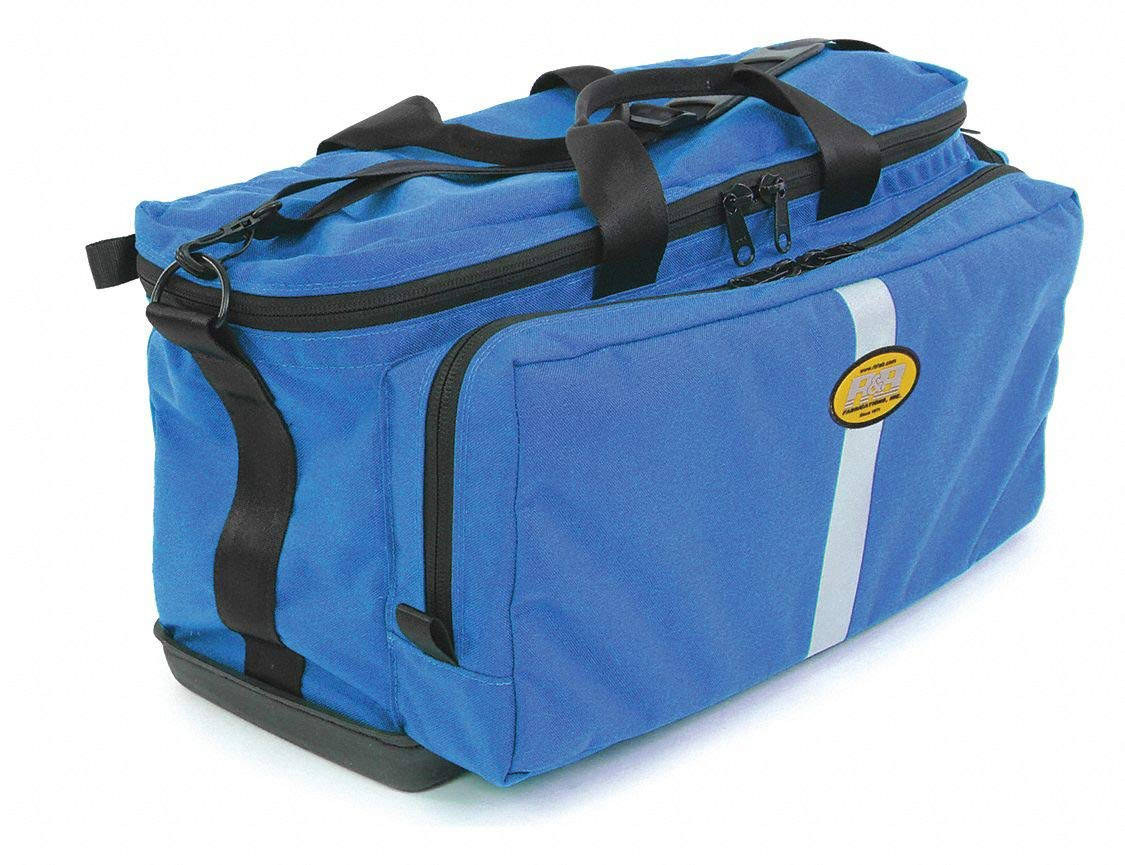 Trauma/Oxygen Bag, Blue, 22'' L