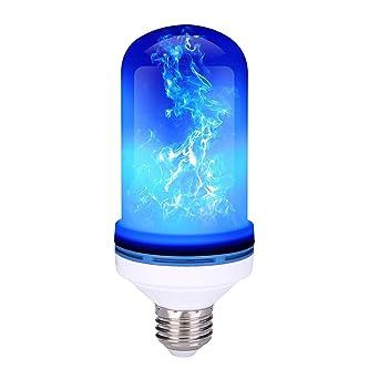 Bombilla de Llama LED | Bombilla Led E27 + 4 Modes + Efecto de Llama Simulada