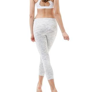 """Tesla Yoga 21"""" Capri Mid-Waist Pants w Hidden Pocket FYC31/FYP31"""