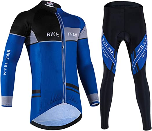 HEIMEN Juego de Ropa de Bicicleta de Manga Larga Unisex, Juego de Ropa de Ciclismo para Bicicleta/montaña/Correr Deportes,3XL: Amazon.es: Hogar