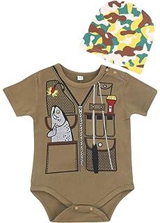 Amazon.com: Chubs - Body para bebé, diseño de Papá Noel ...