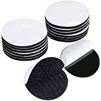 30PCS Velcro Dots -Sticky Back Hook Loop Dots - Double Sided Industrial Strength Coins - Rug Carpet Gripper Pad Mounting…