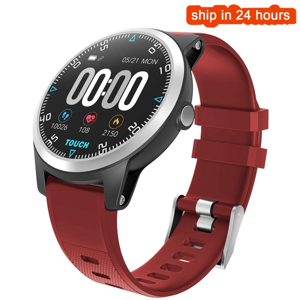 FANZIFAN Reloj Inteligente Smart Watch ECG PPG Monitor de ...