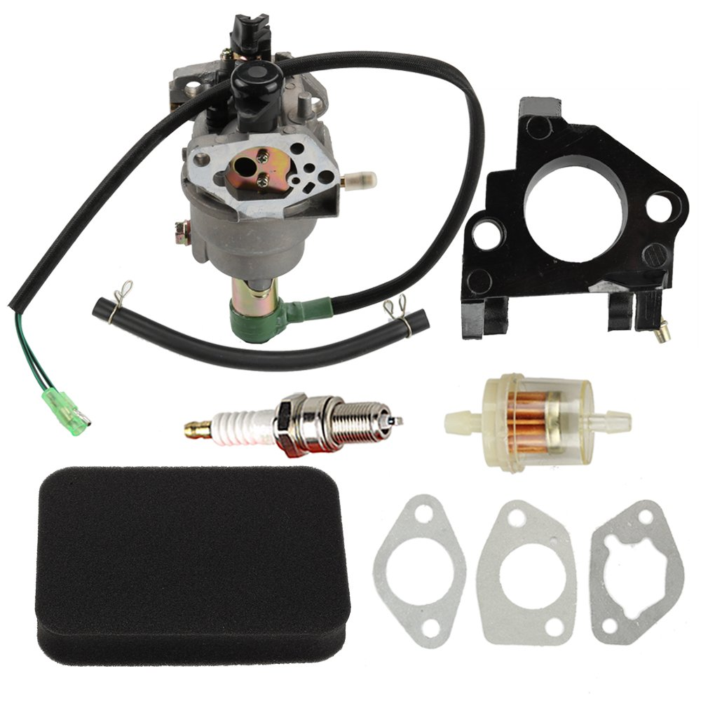 Butom Carburetor with Insulator Air Intake Gaskets Filter For Generac Centurion GP5000 5944 0055770 005577-1 005578-0 Generators by Butom (Image #1)