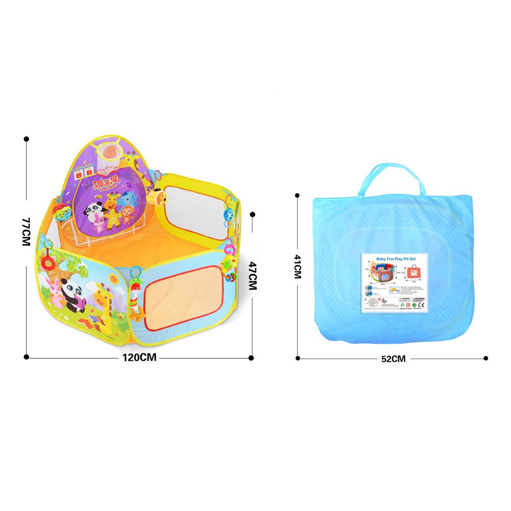 Ball Pool Pop Up Tent Toddler SKL Outdoor Running Foldable Ball Pit