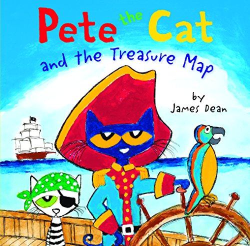 Pete The Cat And The Treasure Map (Turtleback School & Library Binding ()