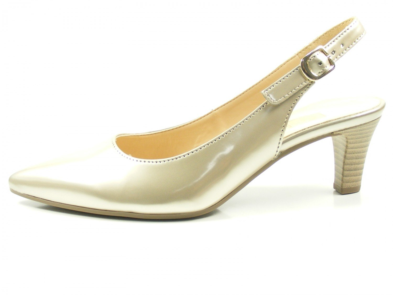Gabor Shoes Damen Fashion Pumps Gold2018 Letztes Modell  Mode Schuhe Billig Online-Verkauf