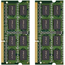 PNY Performance 16GB Kit DDR3 1600MHz CL11 1.35V Notebook (SODIMM) Memory MN16GK2D31600LV