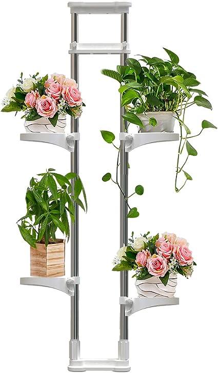 Blumenregal Metall Garten Pflanztreppe Regal Pflanzen Blumenständer Blumen Wohn