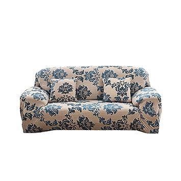 iPenty Home Funda de Sofá Elástica, Cubre para Silla en Tejido Elástico Estampado, Fundas de Sofa Protector de Sofá o Sillón