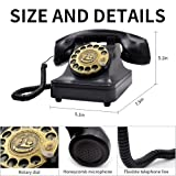 IRISVO Retro Rotary Landline Phone for