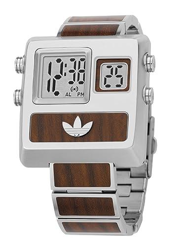 adidas adh1851 Digital para hombre reloj de pulsera de acero inoxidable: Amazon.es: Relojes