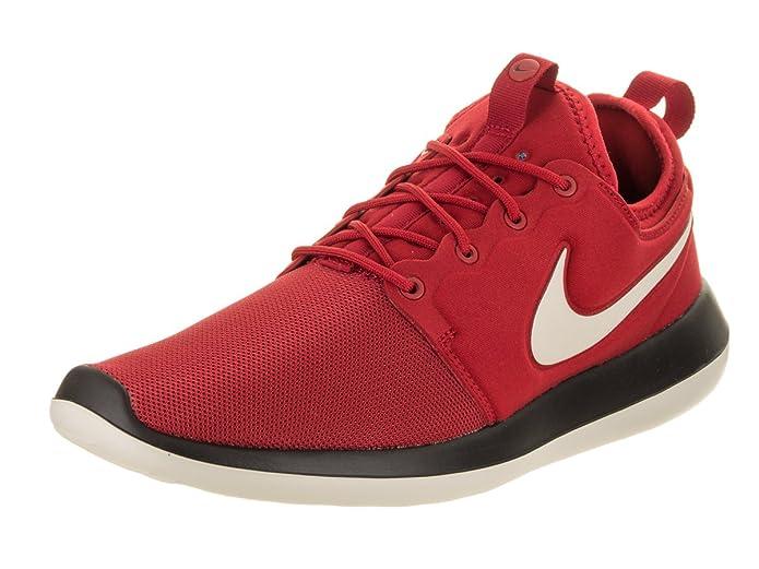 Nike Roshe Two Two Sneakers Herren Rot mit weißem Streifen