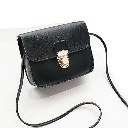 0973fe62a6d00 Maca.lina Women Ladies Leather Shoulder Bag Cross-body Bag Tassel Handbag  Purse Messenger
