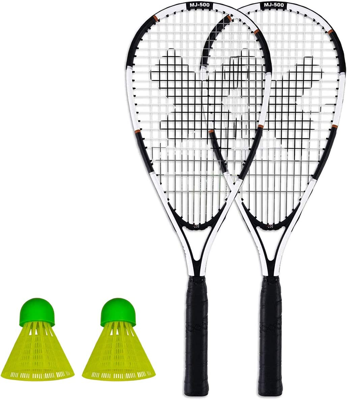 Pure 2 Improve XQmax Kit de raquette de badminton Speed comprenant 2 raquettes 2 volants et un sac de transport