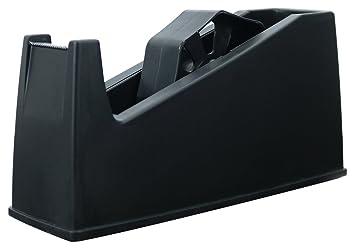 Dispensador de cinta resistente para escritorio, 25 mm, para cintas pequeñas y grandes.: Amazon.es: Oficina y papelería