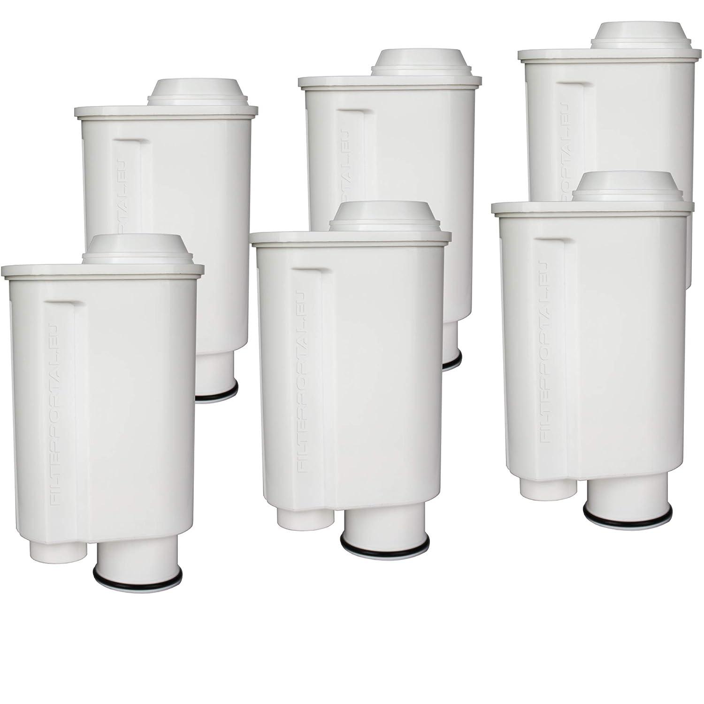 Juego de 6 filtros de agua para cafetera espresso (compatible con ...