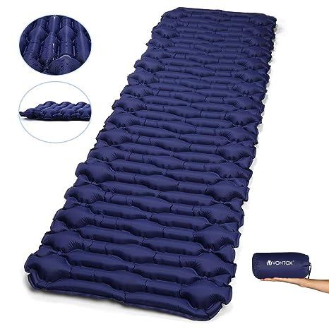 V VONTOX - Esterilla de dormir para acampada (tamaño grande ...
