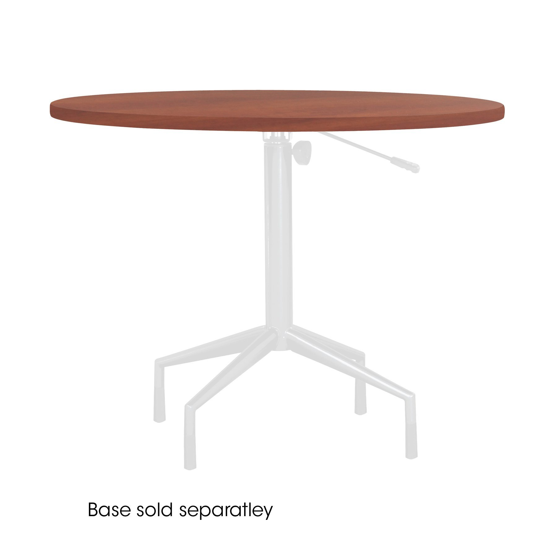 Safco Products 2653CY RSVP  36'' Round Table Top (Base sold separately), Cherry