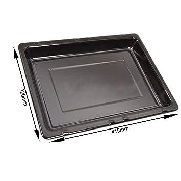 Spares2go esmaltada bandeja cacerola de grasa para IKEA horno cocina parrilla (415 mm X 320
