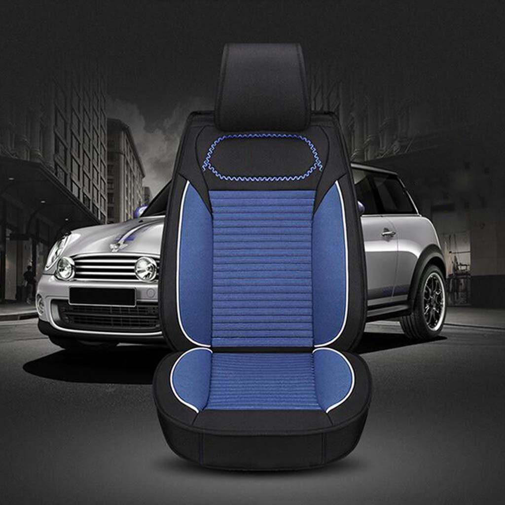 GOUGOU Car seat cover / universal five cushions / Four Seasons General Car Seat Set , black blue