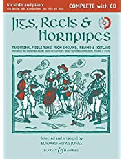 Jigs Reels & Hornpipes (New Edition) Complete Edition W/Cd 1 Or 2 Vln Pno Gtr Ad Lib