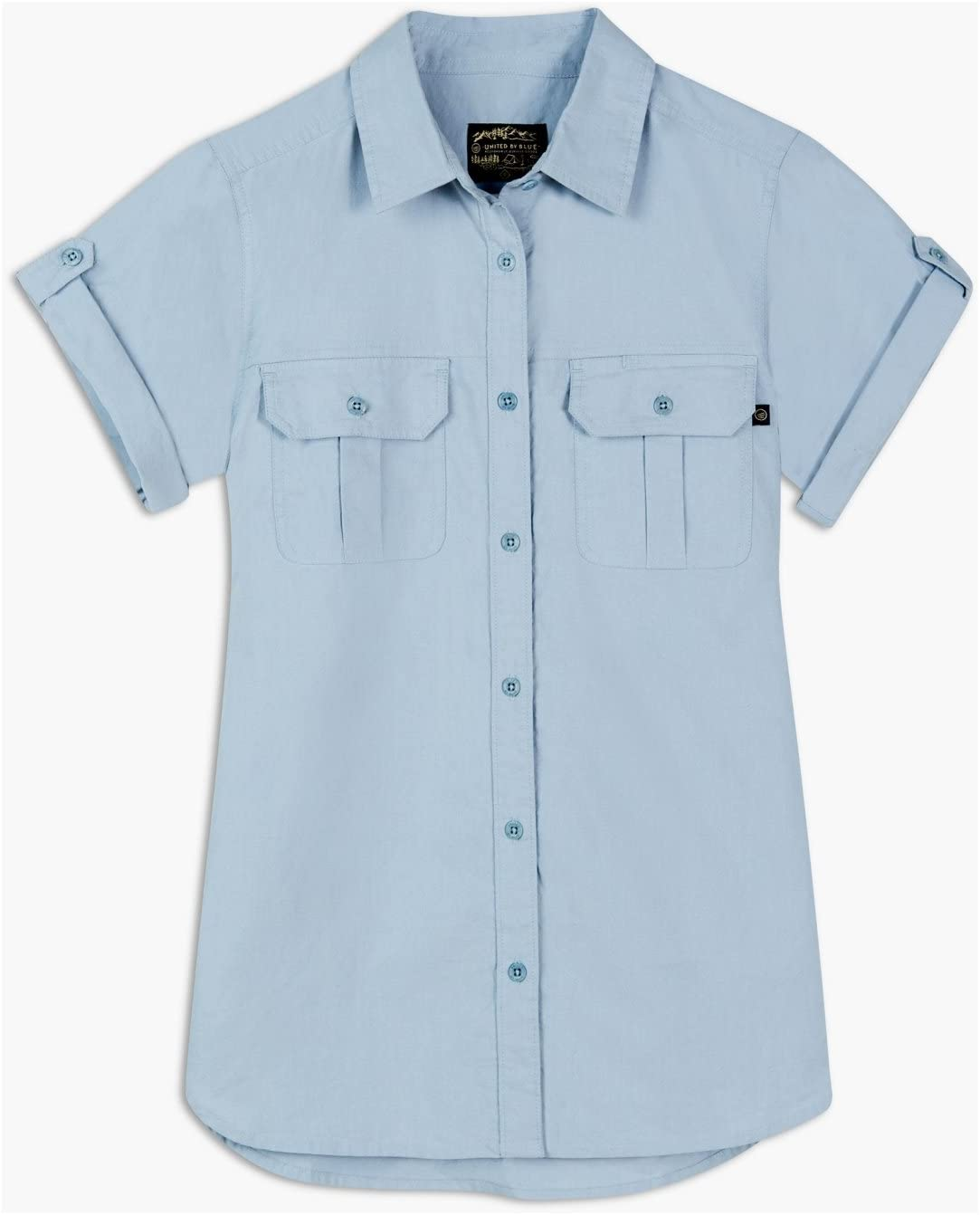 Womens United By Blue Highlands Travel Shirt