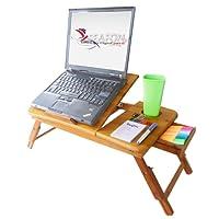 SEAFON Mesa De Bambú Con Ventilador Cooler Para Laptop De 10 - 16 pulgadas PROMOCIÓN ENVIÓ GRATIS !