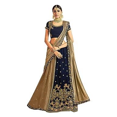 42956faa63 Amazon.com: New Arrivals Wedding Collection Of Designer Stylish Pattern Lehenga  Ghagra Choli Bollywood Dupatta Custom to Measure Muslim Eid 2767: Clothing