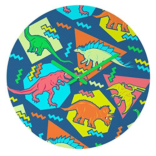 Deny Designs Chobopop, 90s Dinosaur Pattern , Round Clock, Round, 12  90s clocks | Clock – Oh What A Night (December 1963) HD 61jViQldfhL