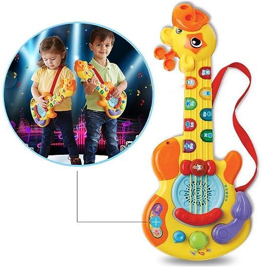 YQZ Guitarra de Juguete para niños Principiantes Jirafa Mini ...