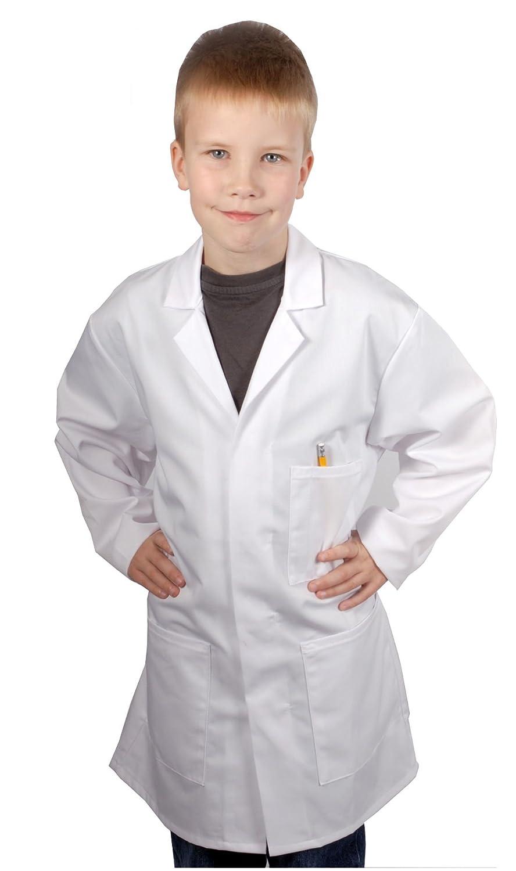 Food Safety Direct Bata de laboratorio o de médico para niños, Color blanco: Amazon.es: Ropa y accesorios