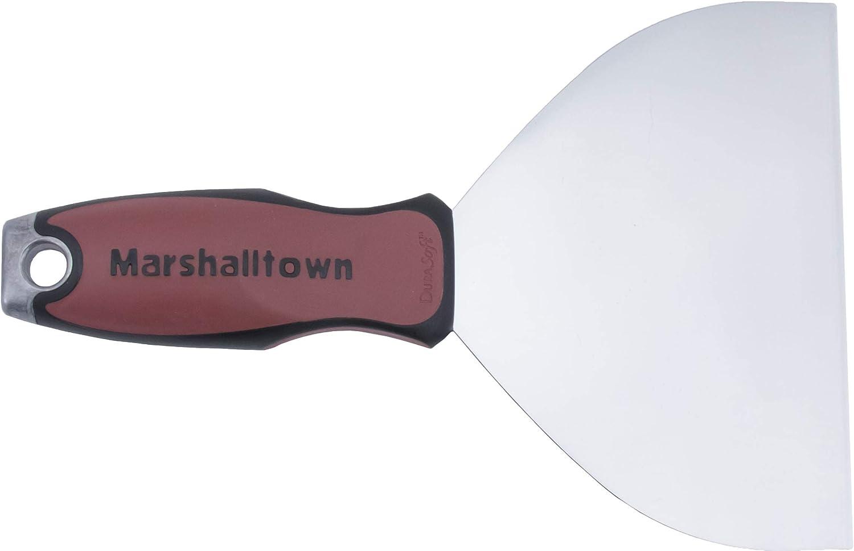 Acciaio Argento 152 mm Marshalltown 10886 Riempitrice Flessibile-estremit/à Larga-Impugnatura DuraSoft