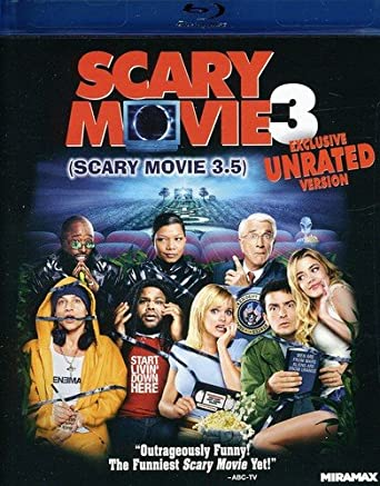Amazon Com Scary Movie 3 Unrated Version Blu Ray Anna Faris Anthony Anderson Leslie Nielsen Camryn Manheim Simon Rex Timothy Stack Drew Mikuska Peter Boyle Drew Mikusha Tim Stack Carson Ward William Forsythe George
