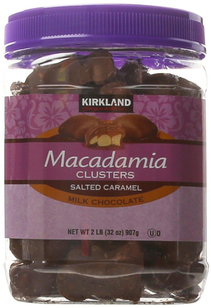 Kirkland Signature Macadamia Clusters, 32 Ounce