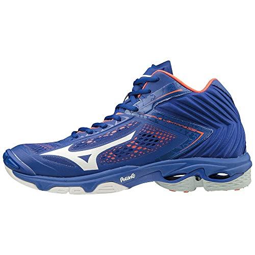 Mizuno Wave Lightning Z5 Mid Blauw volleybalschoenen Heren Size 42 ½ Blue   Amazon.co.uk  Shoes   Bags 1f505a63d8f
