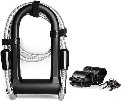 Candado De Bicicleta Seguridad Cable Súper Acero De Aleación ...