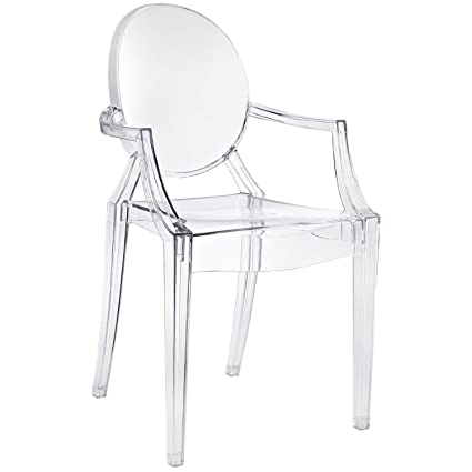 nicer furniture set of1 philippe starck louis xvi ghost chair with rh amazon ca Antique Louis XVI Chairs Louis XV Chair