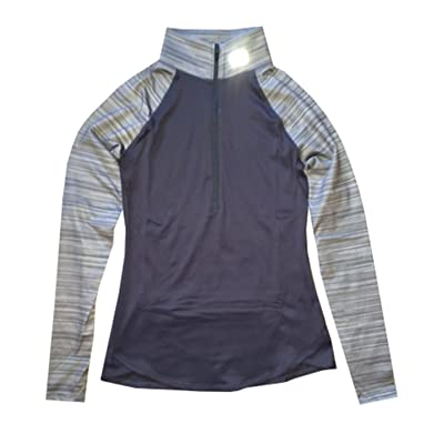 Under Armour Women UA Running Qualifier Printed 1/2 Zip Jacket Shirt