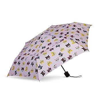 c454b67e8 Amazon.com: ShedRain WindPro Vented Fashion Auto Open & Close Compact Wind  Umbrella: Hip Cat Pink: ShedRain
