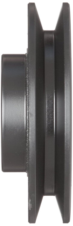 Class 30 Gray Cast Iron 10337 max rpm 3L//4L Belt Section 1 Bore 1 Groove 1.86 Pitch Diameter//2.2 Datum 2.4 OD Martin AK24 1 FHP Sheave BS
