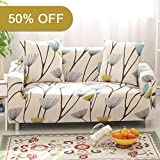 Lamberia Spandex Fabric Stretch Sofa Slipcover Couch Covers for 3 Cushion Couch With One Pillow Case 70