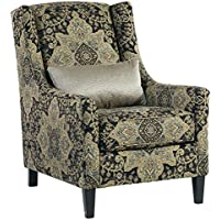 Hartigan Accent Chair Onyx/Casual