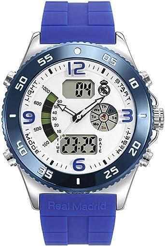 Reloj Oficial Real Madrid Hombre RMD0010-04: Amazon.es: Relojes