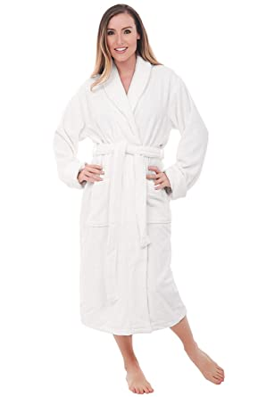 3a8102711c Alexander Del Rossa Womens Turkish Terry Cloth Robe